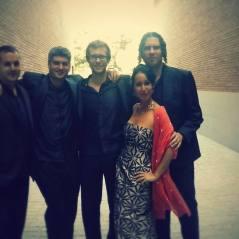 """Parte de """"La Principal de la Bisbal"""" antes del concierto en el Auditori de LLinars del Vallès"""