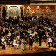 Ensayo Requiem de Mozart, Palau de la Música