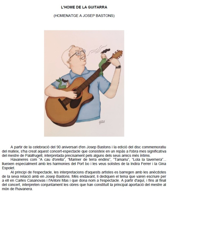 L'HOME DE LA GUITARRA